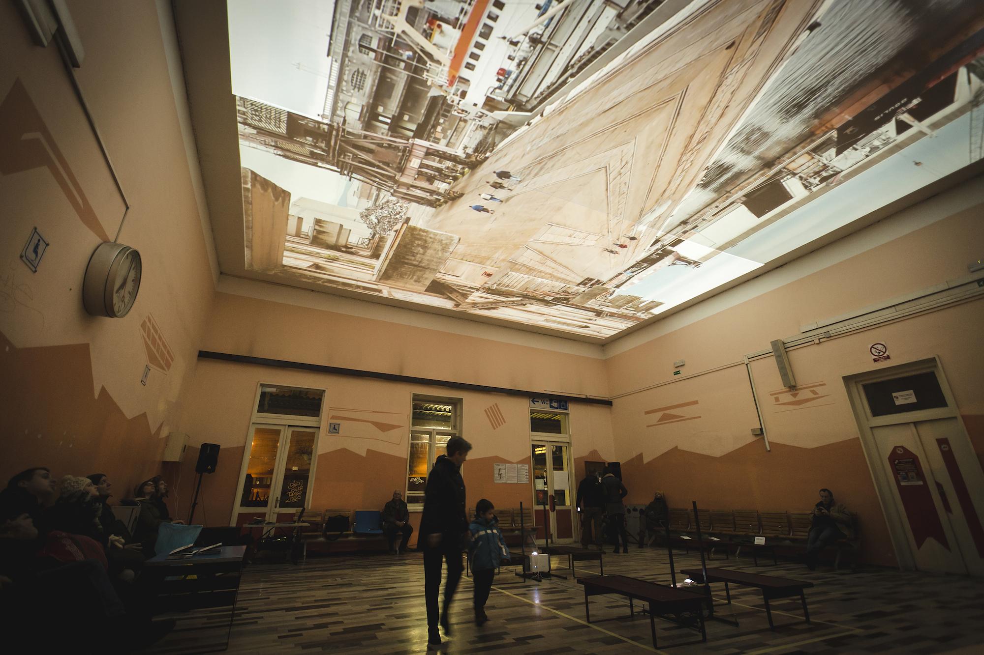 Art color rijeka - Video Documentation Of The Site Specific Installation Rijeka Train Station Waiting Room February 5th 11th 2015
